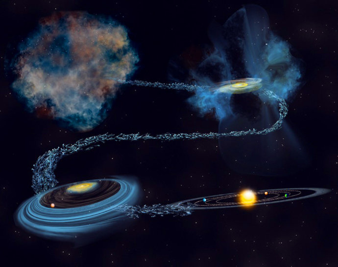 Illustration: Bill Saxton / NSF / AUI / NRAO